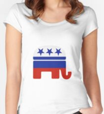 Russian GOP Women's Fitted Scoop T-Shirt