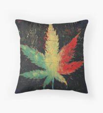Marijuana Throw Pillow