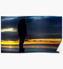 At sunset Poster