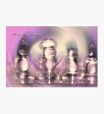 CHESS © Vicki Ferrari Photography Photographic Print