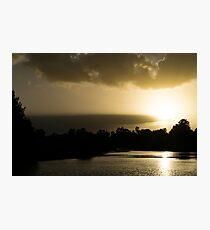 Hunter River Sunrise Photographic Print