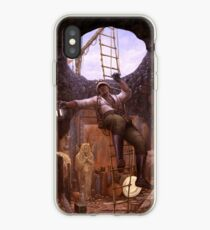 Steampunk Archaeologist iPhone Case