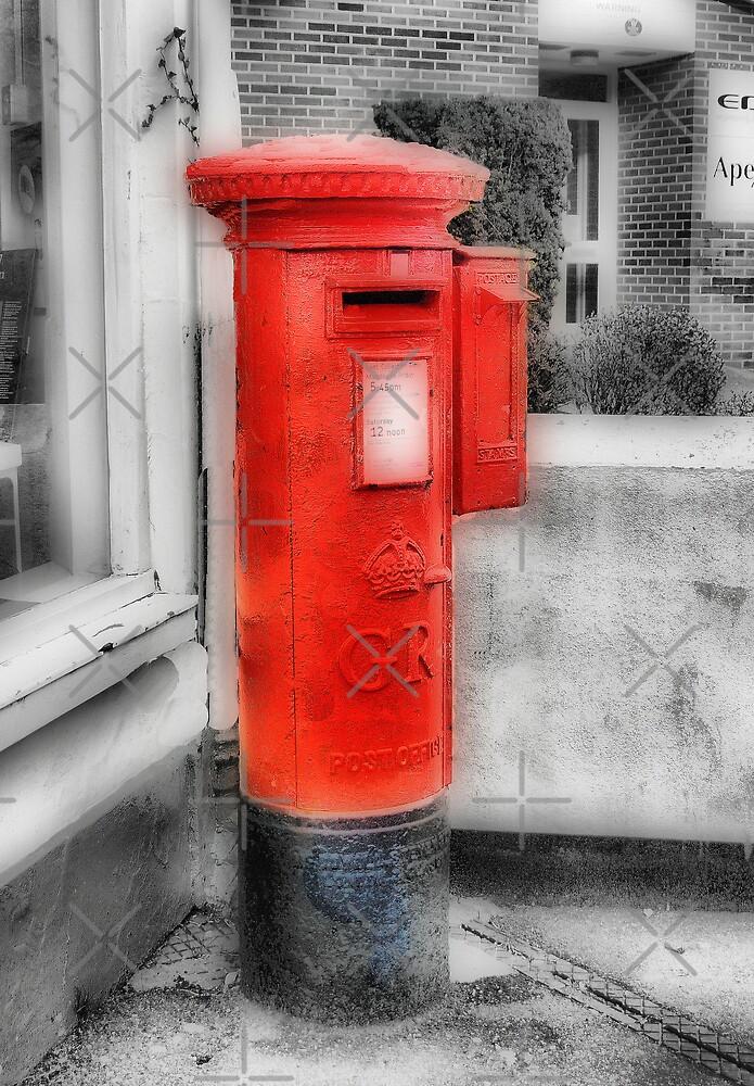 Pillar Box-Stamp Machine by Catherine Hamilton-Veal  ©