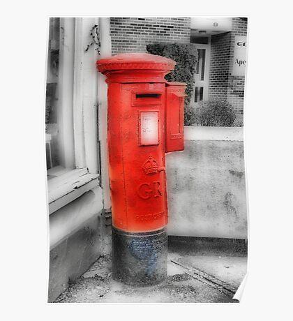 Pillar Box-Stamp Machine Poster
