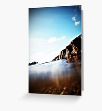 Go Now Greeting Card