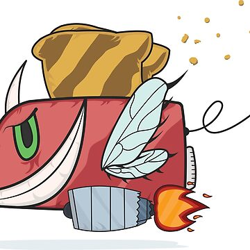 Toaster Monster by TheBSF