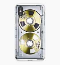 Music cassette tape iphone-case iPhone Case