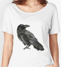 Raven Women's Relaxed Fit T-Shirt