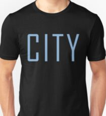 Manchester City Powder Blue Unisex T-Shirt