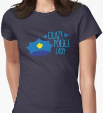 Crazy Police Lady T-Shirt