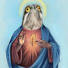 Our Lord and savior potoo bird by dragongirl222