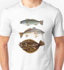 Inshore Slam | Spotted Seatrout | Redfish | Flounder Unisex T-Shirt