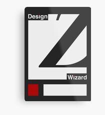 Design Wizard Version Two Metal Print