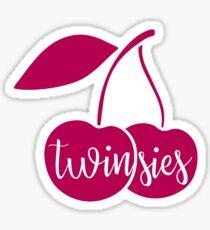 "Valentine's Day ""Twinsies"" Stickers Sticker"