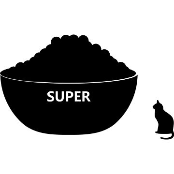 Kitty super bowl (No, not supper) by Mandz11
