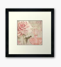 Perfume and Roses I Framed Print