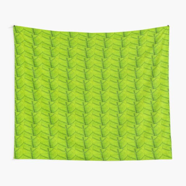 Eco green leaf Tapestry