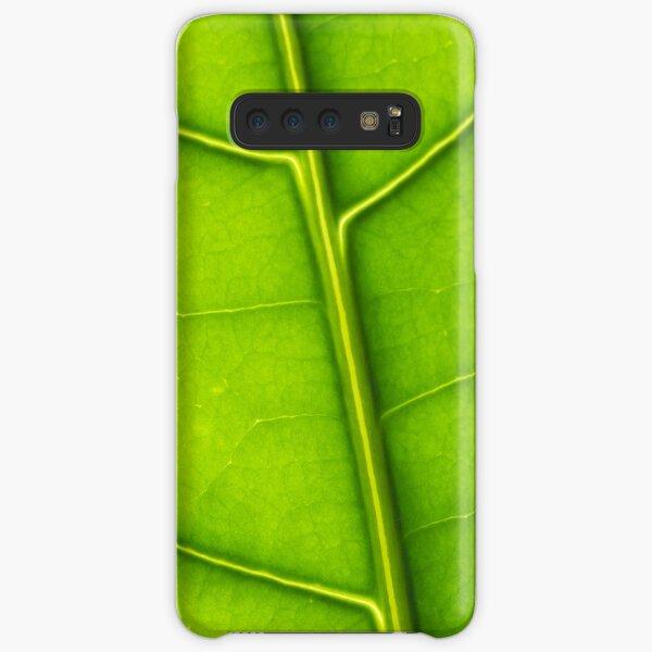 Eco green leaf Samsung Galaxy Snap Case