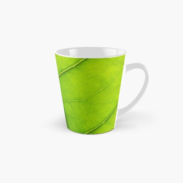 Eco green leaf Tall Mug