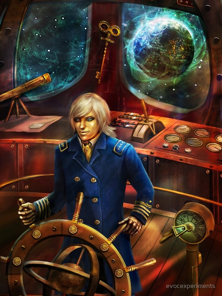 Steampunk Voyage by evocexperiments