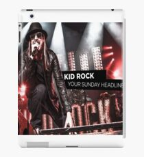 kid rock your sunday headliner iPad Case/Skin