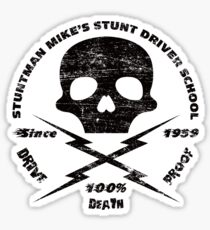 Stuntman Mike's Stunt Driver School Sticker