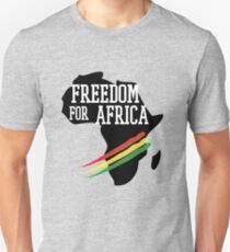 FREEDOM FOR AFRICA Unisex T-Shirt
