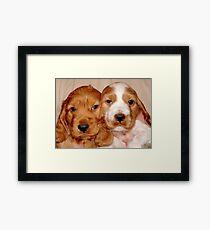 Brother & Sister Framed Print