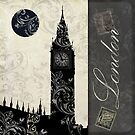 Moon Over London by mindydidit