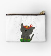 Dancing kitty Studio Pouch
