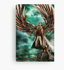On Copper Wings Canvas Print