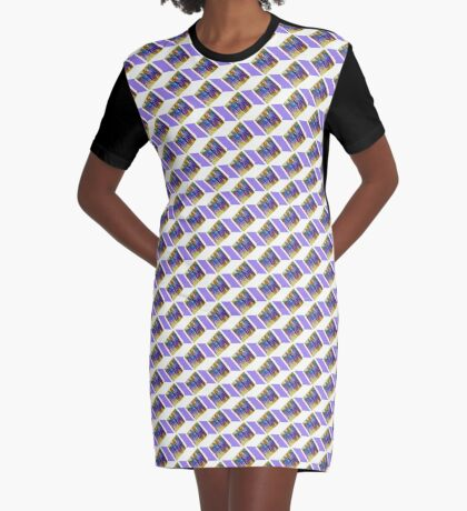 J'ouvert Graphic T-Shirt Dress