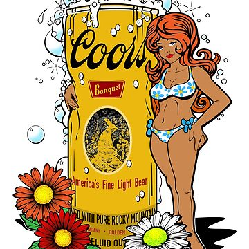 Hippy Beer Chick by superiorgraphix