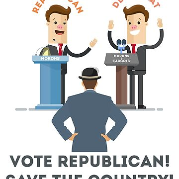 Vote Republican by funnymaps