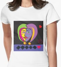 Jester Valentine Women's Fitted T-Shirt