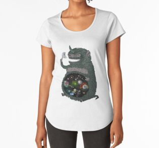 Space junkie stickers by nichole lillian ryan redbubble womens premium t shirt publicscrutiny