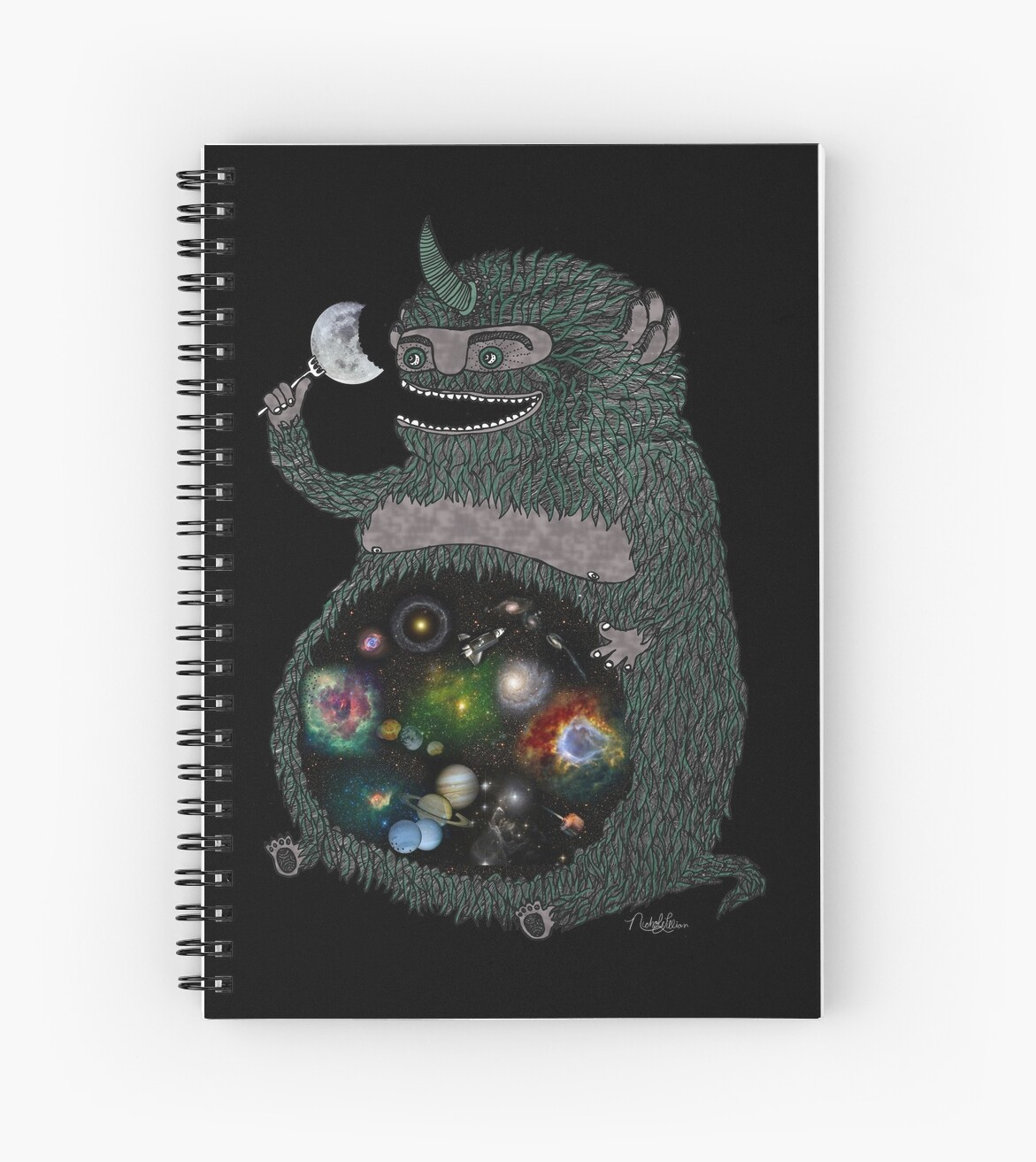 Space junkie spiral notebooks by nichole lillian ryan redbubble space junkie by nichole lillian ryan publicscrutiny Gallery