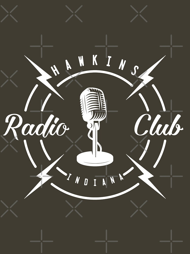 Hawkins Radio Club by AngryMongo