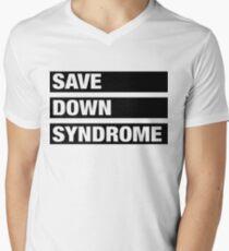 Save Down Syndrome Men's V-Neck T-Shirt