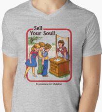 Verkaufe deine Seele T-Shirt mit V-Ausschnitt
