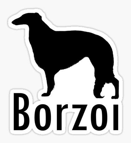 BORZOI Sticker