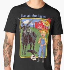 Fun at the Farm Men's Premium T-Shirt