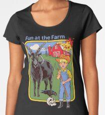 Fun at the Farm Women's Premium T-Shirt