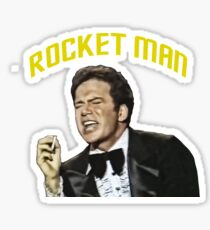 I'm a Rocket Man! Sticker