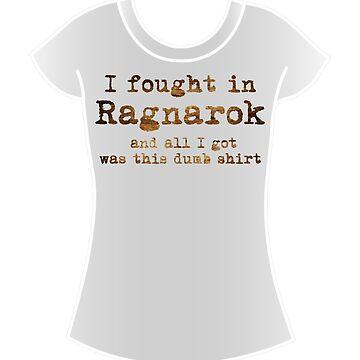 Ragnarok Shirt by brightgemini