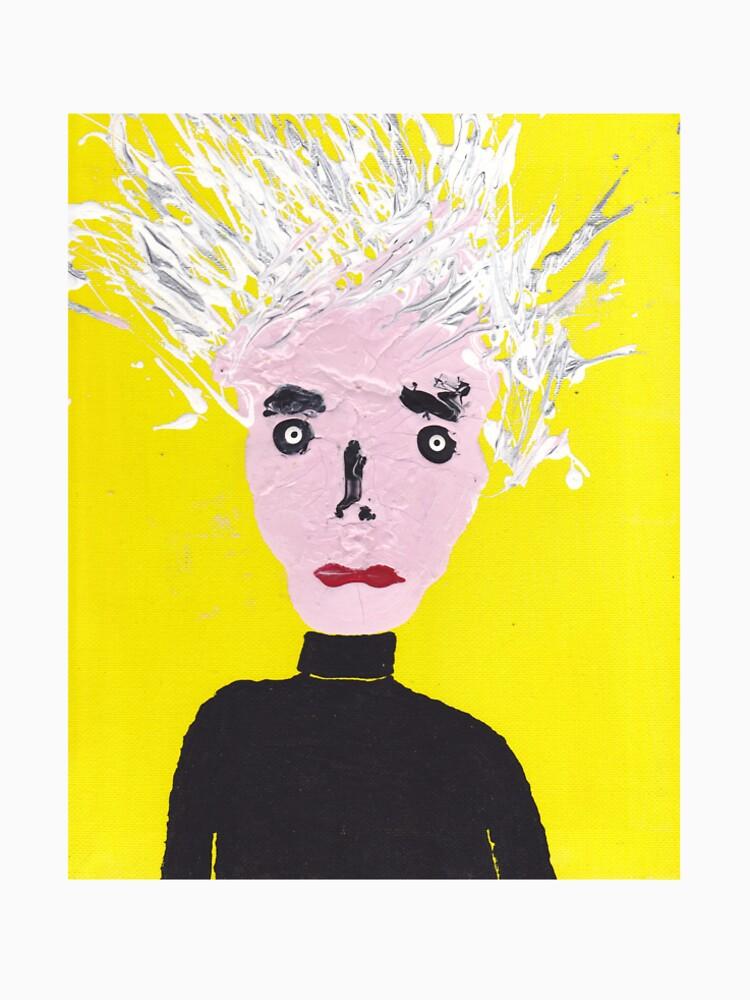 «Portrait inspiré d'Andy Warhol - Martin Boisvert - Faces à flaques» par martinb1962