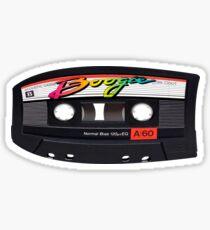 Pegatina Boogie Cassette