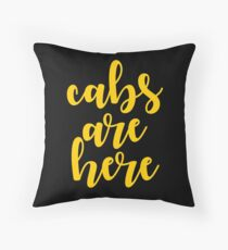 jersey shore - cabs are here Throw Pillow