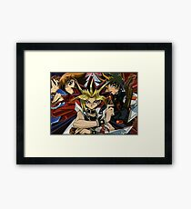 Awesome YuGiOh Framed Print