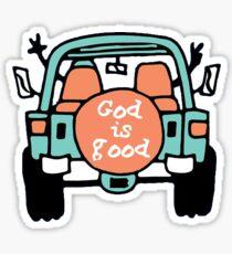 Gott ist gut Sticker